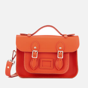 The Cambridge Satchel Company Women's Mini Satchel - Flame Orange