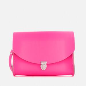 The Cambridge Satchel Company Women's Large Push Lock Bag - Fluoro Pink
