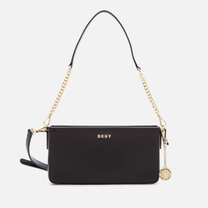 DKNY Women's Bryant Small Demi Cross Body Bag - Black