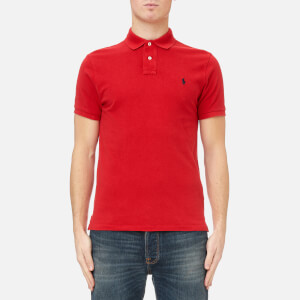 Polo Ralph Lauren Men's Custom Fit Polo Shirt - Red