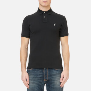 Polo Ralph Lauren Men's Slim Fit Polo Shirt - Polo Black