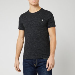 Polo Ralph Lauren Men's Short Sleeve Crew Neck T-Shirt - Black Marl Heather
