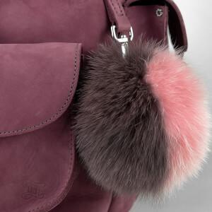 MyBag x Grafea Exclusive Women's Hari Nubuck Backpack - Burgundy: Image 5