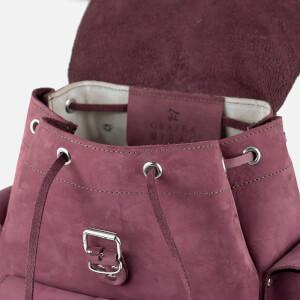 MyBag x Grafea Exclusive Women's Hari Nubuck Backpack - Burgundy: Image 7