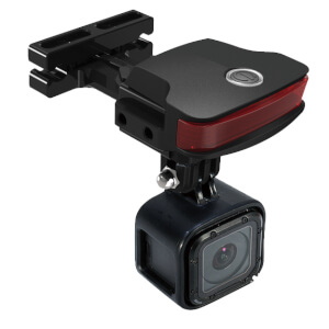 Guee B-Mount (Light+Go Pro Adapter) - Black
