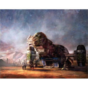 "Firefly ""Rendezvous"" Giclee by Cliff Cramp - Zavvi UK Exclusive"