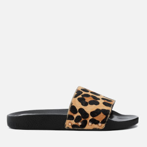 Dune Women's Lana Slide Sandals - Leopard