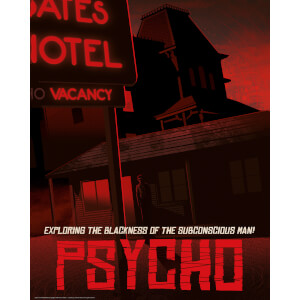 Limited Edition Fine Art Giclee - Psycho