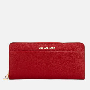 MICHAEL MICHAEL KORS Women's Money Pieces Pocket Continental Wallet - Bright Red