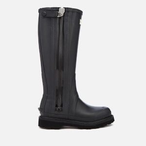 Hunter Women's Balmoral Sovereign Technical Zip Wellies - Black