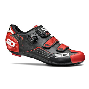 Sidi Alba Road Shoes - Black/Red