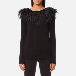MICHAEL MICHAEL KORS Women's Feather Sweatshirt - Black