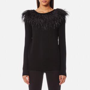 MICHAEL MICHAEL KORS Women's Feather Sweatshirt - Black