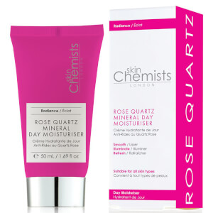 Crème Hydratante de Jour Anti-Rides au Quartz Rose skinChemists London 50 ml