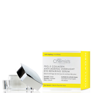 skinChemists London Pro-5 Collagen Anti-Ageing Overnight Eye Repairing Serum 15ml