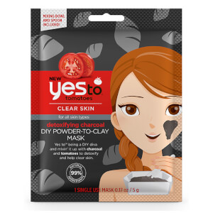 yes to Tomatoes Detoxifying Charcoal DIY Powder-to-Clay Mask 5 g