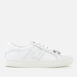 Marc Jacobs Women's Empire Chain Link Trainers - White
