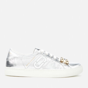 Marc Jacobs Women's Empire Chain Link Trainers - Silver