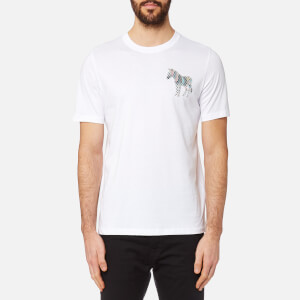 PS by Paul Smith Men's Zebra T-Shirt - White