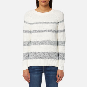 Barbour Women's Faeroe Knit Jumper - Cloud