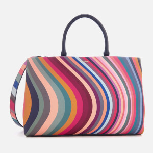 Paul Smith Women's Top Handle Swirl Tote Bag - Multi
