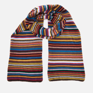 Paul Smith Men's Multistripe Knitted Scarf - Multi