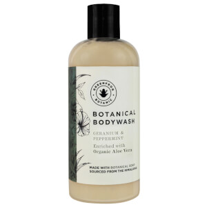 Greenfrog Botanics Natural Bodywash in Relaxing Geranium and Peppermint