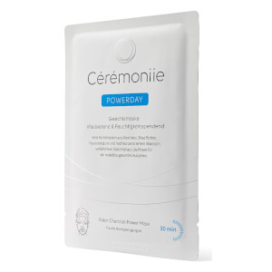 Cérémoniie Powerday Black Charcoal Power Mask