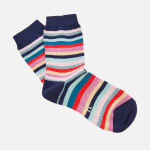 PS by Paul Smith Women's Clarissa Lurex Swirl Socks - Pink Multi