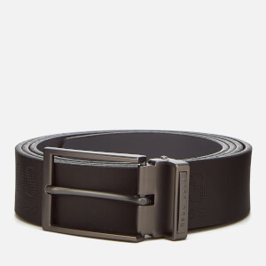 BOSS Green Men's Tomillo Belt - Black Logo