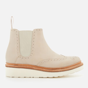 Grenson Women's Alice Leather Chelsea Boots - Natural: Image 1