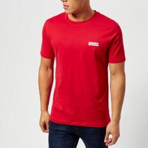 HUGO Men's Durned Crew Neck T-Shirt - Red