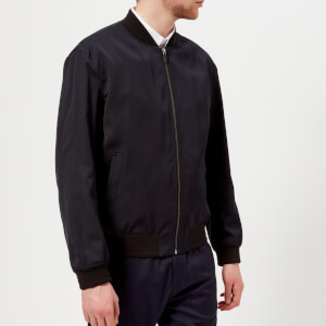 HUGO Men's Bronz Bomber Jacket - Navy