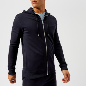 HUGO Men's Durphy Zipped Hoody - Navy