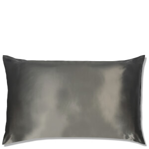 Slip Silk Pillowcase King - Charcoal