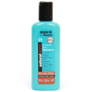 Natural World Argan Oil of Morocco Moisture Rich Shampoo