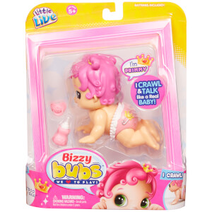 Little Live Bizzy Bubs Crawling Baby Primmy - Series 1