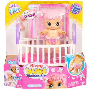 Little Live Bizzy Bubs Cute Crib - Series 1