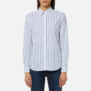GANT Women's Barre Stripe Shirt - Yale Blue