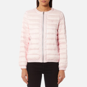 GANT Women's Lightweight Down Blouson Coat - Barley Pink