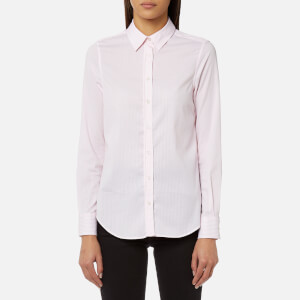 GANT Women's Striped Jaspe Shirt - Shadow Rose