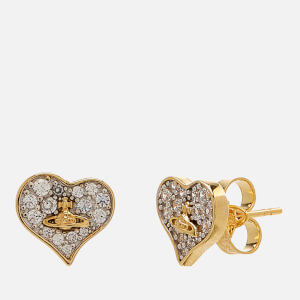 Vivienne Westwood Women's Freya Earrings - White Cubic Zirconia