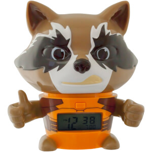 BulbBotz Guardians of the Galaxy Rocket Racoon Wecker