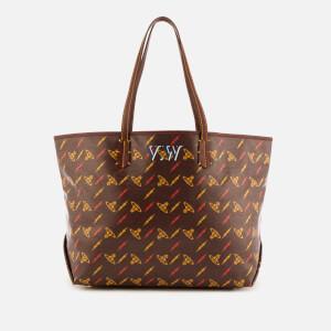 Vivienne Westwood Women's Colette Small Shopper Bag - Burgundy