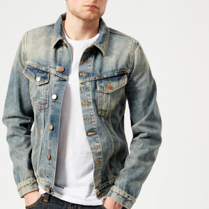 Nudie Jeans Men's Billy Denim Jacket - Shimmering Indigo