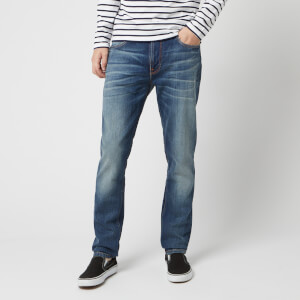 Nudie Jeans Men's Lean Dean Straight Jeans - Lost Legend