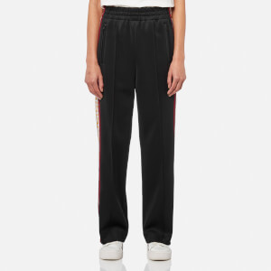 Marc Jacobs Women's Track Pants - Black/Yellow
