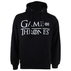 Game of Thrones Men's Logo P/O Hoody - Black