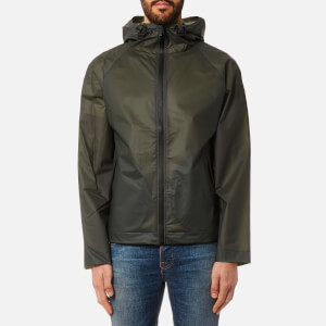 Hunter Men's Original Vinyl Windcheater Jacket - Dark Olive