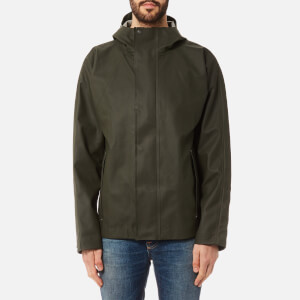 Hunter Men's Original Rubber Jacket - Dark Olive